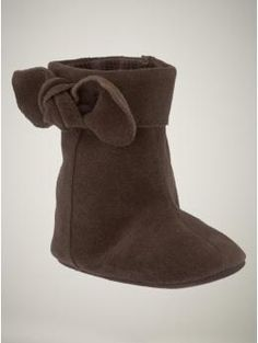 Too cute...perhaps these will be the precursor to full fledged Uggs.