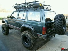 93-96 XJ Sport, Bushwhacker flares,