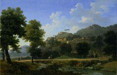 Jean-Victor Bertin - Italian Landscape (Le Paysage d'Italie)