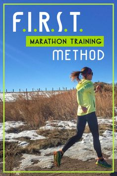 F.I.R.S.T Marathon Training Method Review - details of the plan and results from those who have tried it