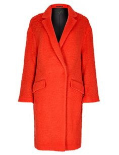 Speziale Wool Rich Cocoon Coat Clothing