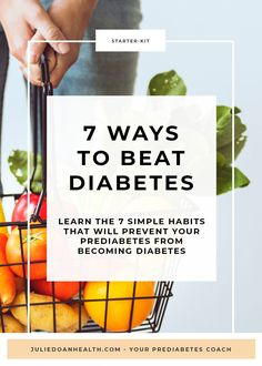 """Get access to my free """"Starter Kit to Better Manage Your Prediabetes"""", so that you can start turning your health around and prevent diabetes. Beat Diabetes, Prevent Diabetes, Diabetes Remedies, Health Remedies, Holistic Nutrition, Health And Wellness, Plant Based Nutrition, Healthy Lifestyle Tips, Living A Healthy Life"""