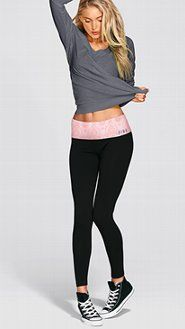 VS PINK Yoga Pants: Women's Yoga Bottoms from Victoria's Secret ...