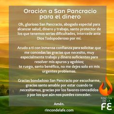 ¿Tienes problemas de dinero? Reza durante tres días esta oración a San Pancracio para el dinero y conseguirás que el santo escuche tus plegarias.