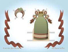 Paper dolls by Julie Allen Matthews.  An African inspired angel paper doll to download and print