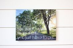 Gift for Runner  You don't have to go fastyou just by YorkSignShop, $27.50