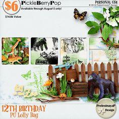 Lolly Bag - PU {by PrelestnayaP Design} 12th Birthday, Birthday Celebration, Happy Birthday, Lolly Bags, Digital Scrapbooking, Design, Products, Happy Brithday, Urari La Multi Ani