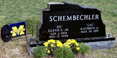 Bo Schembechler (1929 - 2006) Former longtime coach of the University of Michigan Wolverines football team