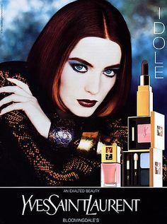 Lucie de la Falaise for Yves Saint Laurent - 1992