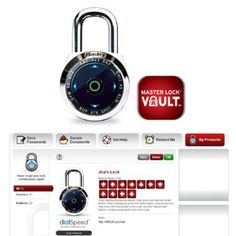 Master Lock Dialspeed Electronic Combination Padlock