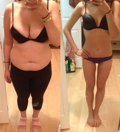 Before and After Weight Loss Photo...Feel what it will be like to more than 38.5 lbs in 1 month