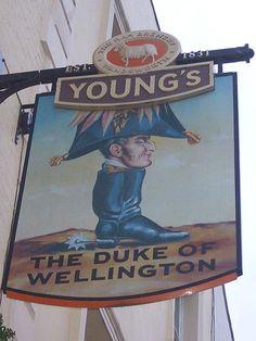 The Duke Of Wellington -