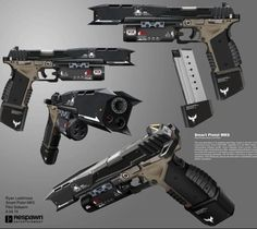 Sci Fi Weapons, Weapon Concept Art, Fantasy Weapons, Weapons Guns, Guns And Ammo, Cold Heart, Future Weapons, Cool Guns, Military Weapons