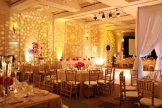 This is my wedding venue at the Westin, Pasadena. Very inspirational look for the ballroom!