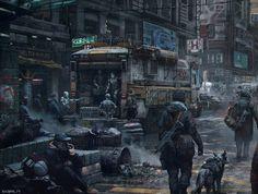 post apocalyptic art