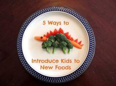 5 Ways Introduce Kids to New Foods...how do you do it? #greatstarts
