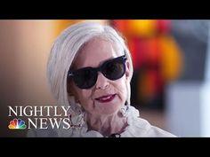 Accidental Icon: 64 Year-Old Fordham Professor Becomes Fashion Star | NBC Nightly News - YouTube