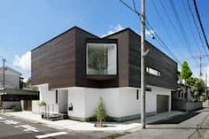 外観: atelier137 ARCHITECTURAL DESIGN OFFICEが手掛けた木造住宅です。