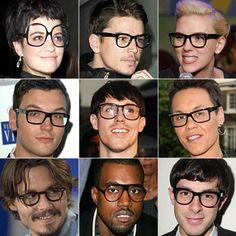 #geek #chic #glasses #cool #fashion