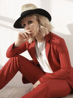 Cover girl of our #SS15 magazine, Noomi Rapace showcases this season's Riviera trend in #TheStyleReport's latest shoot.