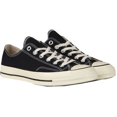 CONVERSE ALL STAR CT AS OX 70'S CANVAS Sneakers ($127) ❤ liked on Polyvore featuring shoes, sneakers, converse footwear, plimsoll shoes, converse trainers, converse shoes and canvas sneakers shoes