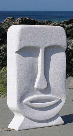 Vous cherchez  : Sculpture/beton cellulaire-Mona-/ 54cm à Trégunc en occasion, en vente ou achat ? : La plus belle offre d'annonce se trouve ici : Sculpture  beton cellulaire  -Mona-  54cm    jardin  ou a l...