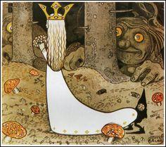 John Bauer : Swedish folk tales