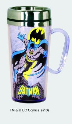 Batman Stainless Steel Travel Mug