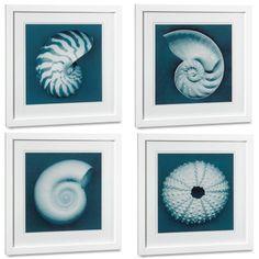 I love the John Kuss Seashells With Blue Background on Williams-Sonoma.com$295.00-$950.00