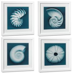 I love the John Kuss Seashells With Blue Background on Williams-Sonoma.com$295.00-$950.00