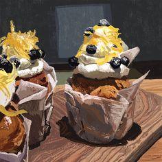 Cakes. #wacom #cintiq #Kylebrushes #kyletwebster.