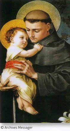 Prières à Saint Antoine