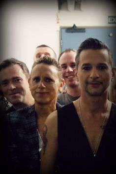 Dave Gahan & depeche Mode at meet & greet