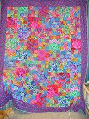 Kaffe Fassett fabrics quilt
