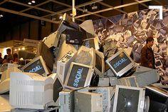 Reciclotón de desechos electrónicos.