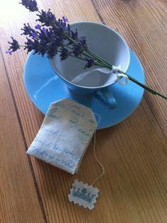 Lavender teabag tutorial