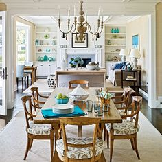 Space-Saving Built-Ins: Careful Collection - Space-Saving Built-Ins - Coastal Living