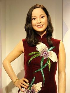 Houses of Wax: Madame Tussauds Hong Kong,Chinese pop star Teresa Teng was honored at Madame Tussauds Hong Kong last week with a new outfit that reflects the one she wore at a famous concert tour in Japan. Teresa Teng died in 1995 as a result of an asthma attack, but still remains extremely popular in China.