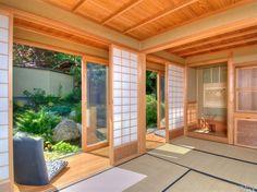 Tropical Master Bedroom with Shoji Sliding Door Kit Room Divider, Shoji screen…