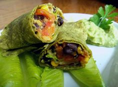 Fazolove burrito Burritos, Fresh Rolls, Tacos, Mexican, Ethnic Recipes, Food, Breakfast Burritos, Essen, Meals