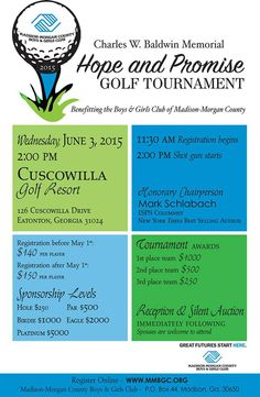 Benefiting Madison-Morgan County Boys & Girls Club - June 3, 2015!