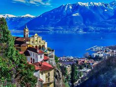 one of my favorite places i've been to. would move here in a heart beat locarno switzerland Places To Travel, Places To See, Wanderlust, Places Of Interest, Amazing Destinations, Oeuvre D'art, Wonders Of The World, Beautiful Places, National Parks