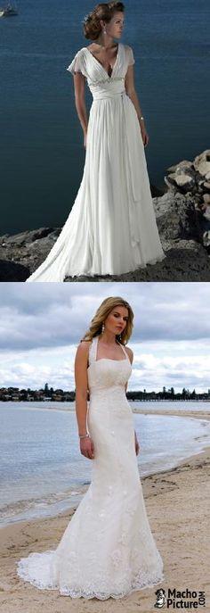 Beach bridal gowns - 3 PHOTO!