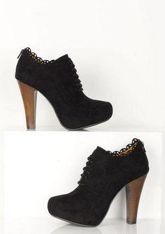 Polly Oxford Heel