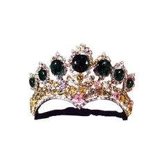 Tiaras of the Iranian Crown Jewels ❤ liked on Polyvore featuring accessories, crowns, tiaras, jewelry and hair accessories
