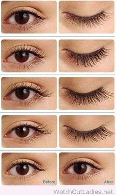 Amazing eyelash extensions