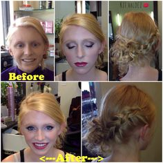 #PROM #updo #makeup #gorgeous! #beautifulbeforeNafter
