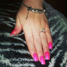 Pink  Nails, Pink, Jewelry, Fashion, Finger Nails, Moda, Ongles, Jewels, Fashion Styles