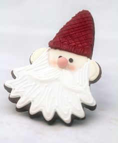 Another amazing Santa-type cookie (it's actually Tomte of the Swedish tradition)