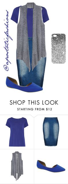 """""""Apostolic Fashions #1346"""" by apostolicfashions on Polyvore featuring Yummie by Heather Thomson, City Chic, H&M, Bella Marie, Topshop and plus size clothing"""